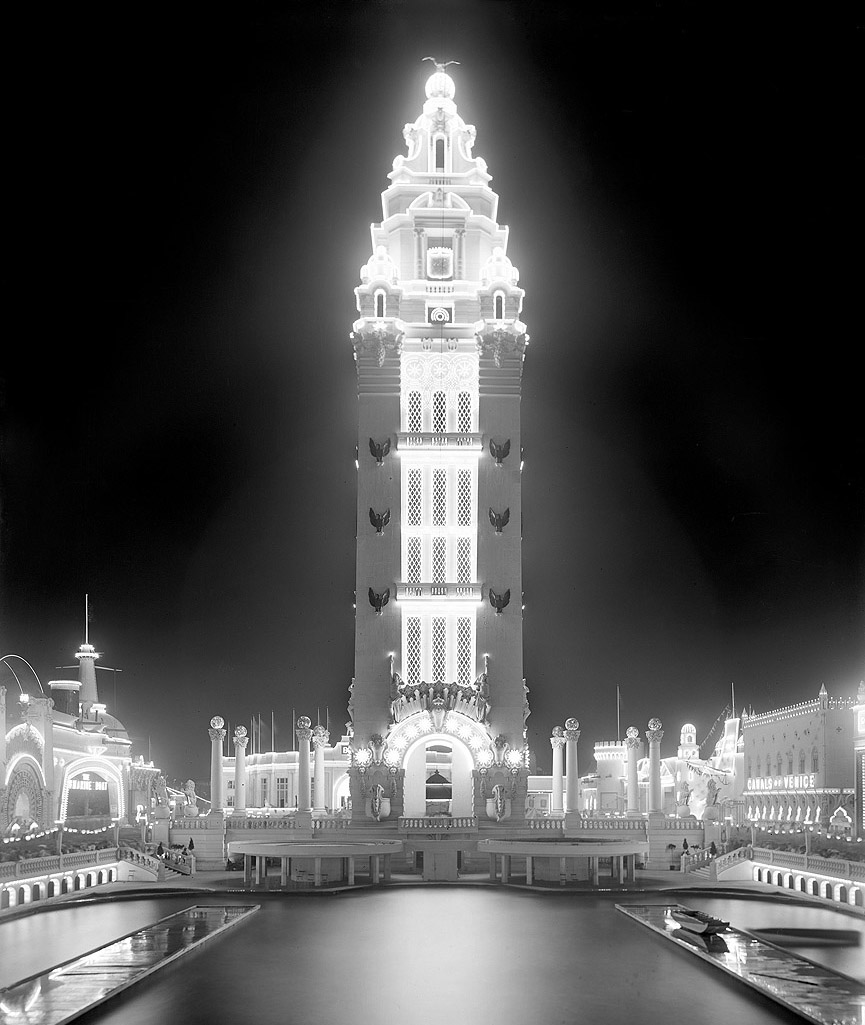 Dreamland at Night, 1905. Librería del Congreso
