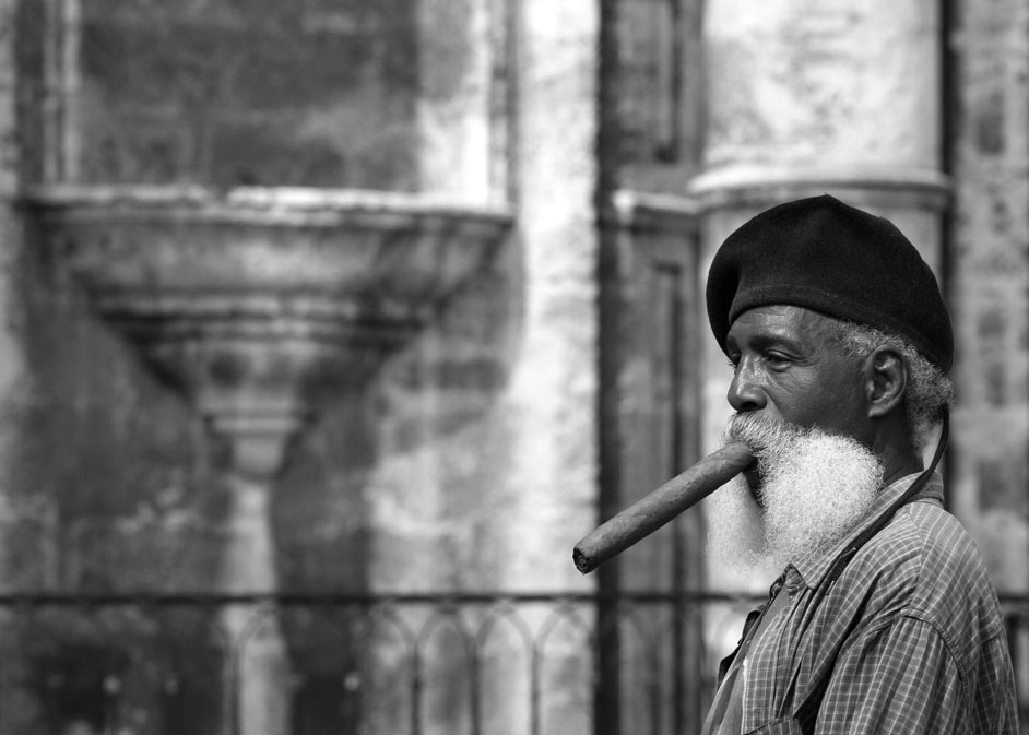 Cigar smoker. Richard 20D
