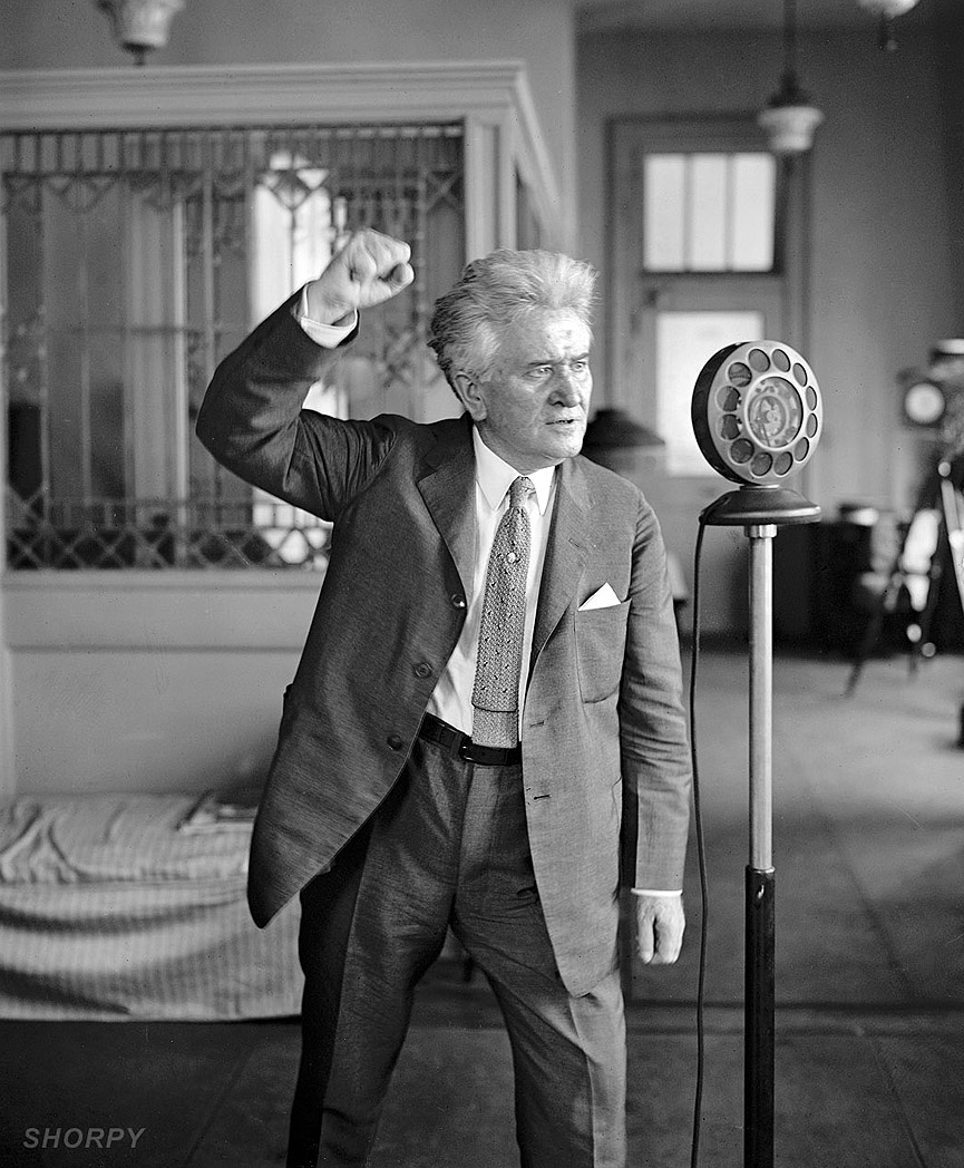 La Follette, 1924. Shorpy