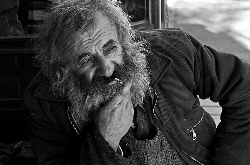 Homeless, Macedonia. Zivko Risteski