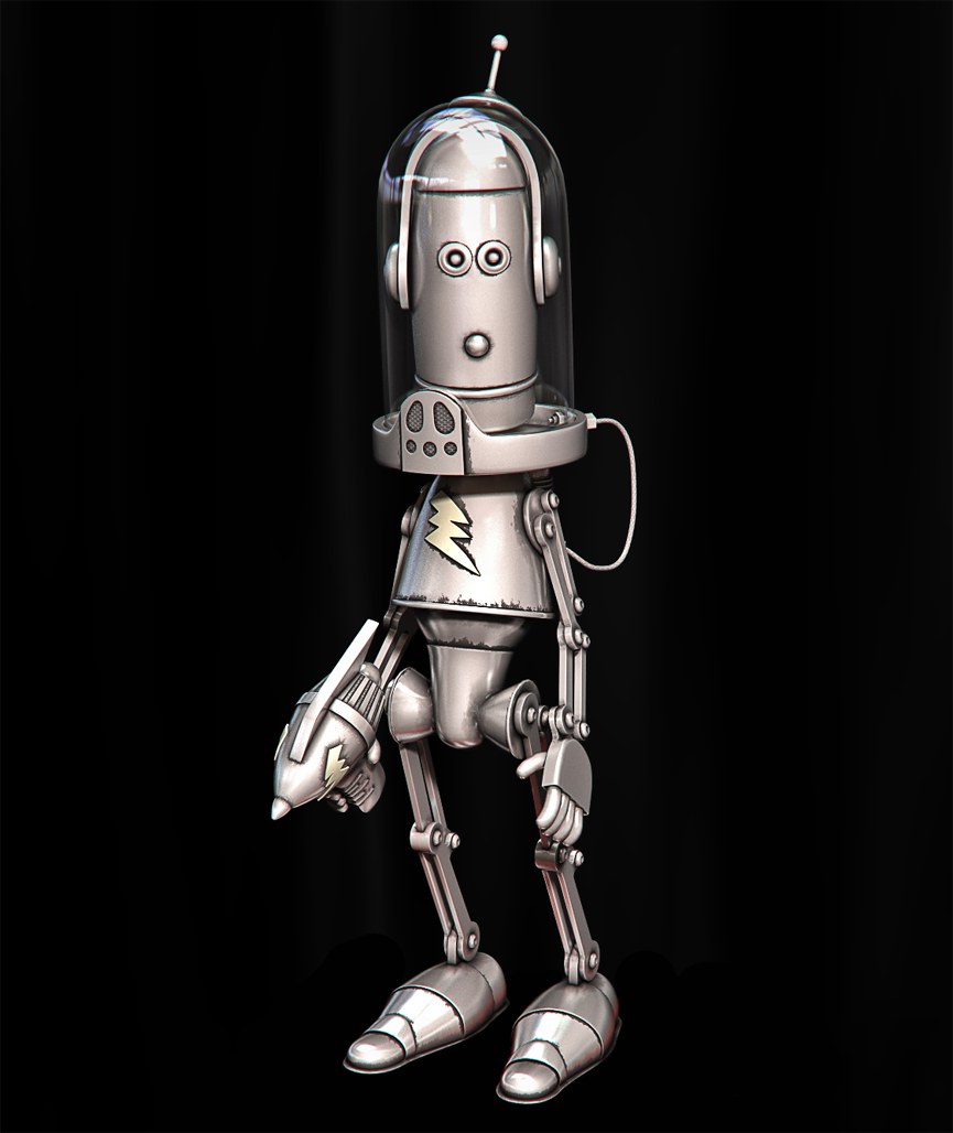 Dave the robot. Lawrence Northey