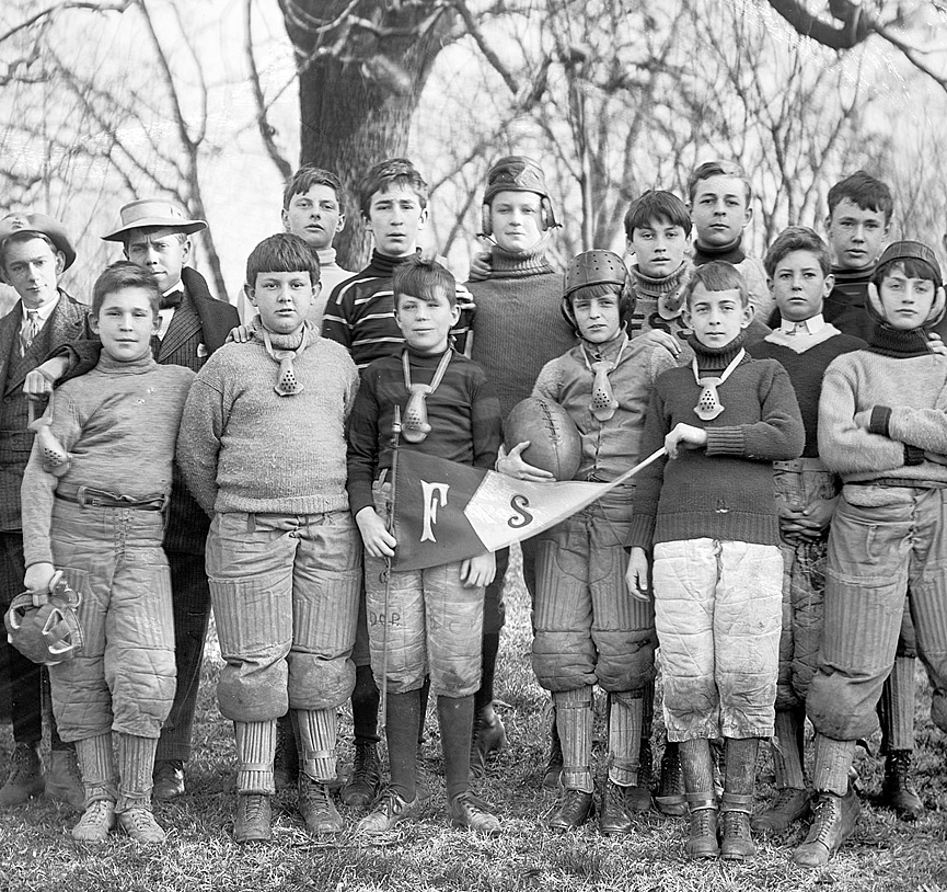 Sidwell Friends de Washington, 1906. Shorpy