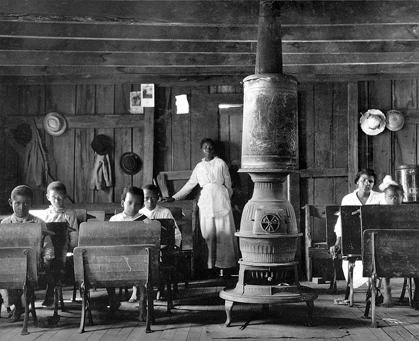 Escuela para jovenes de color. Kentucky, 1916. Shorpy