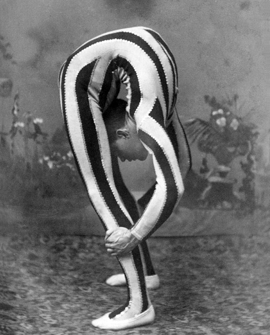 Contorsionista, 1880. George Eastman