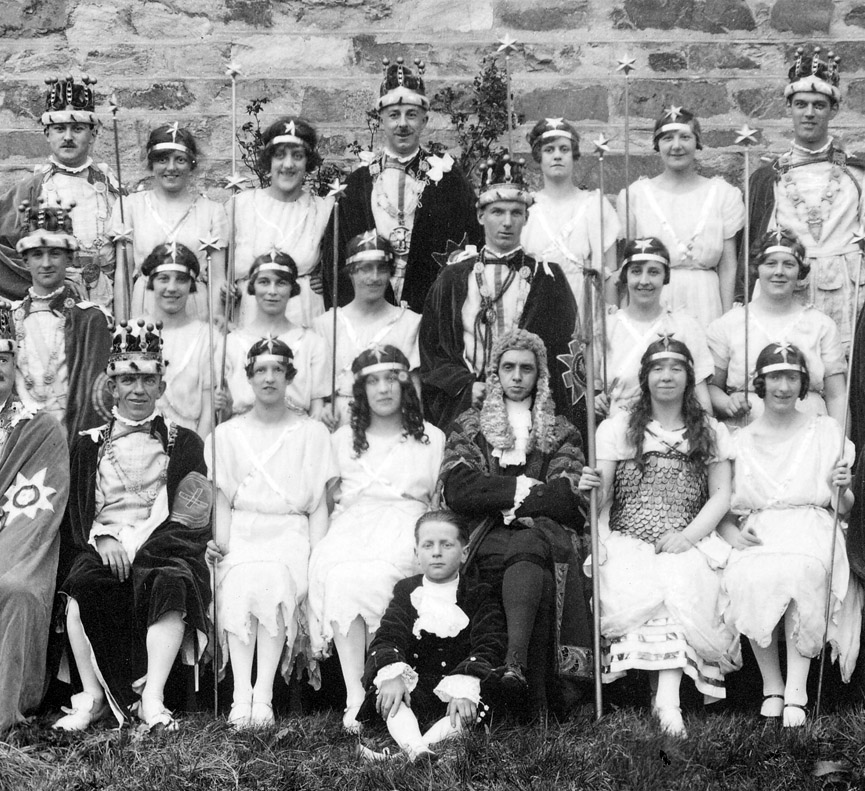 Iolanthe, a play in Pitlochry. Escocia, 1927. Frank Henderson