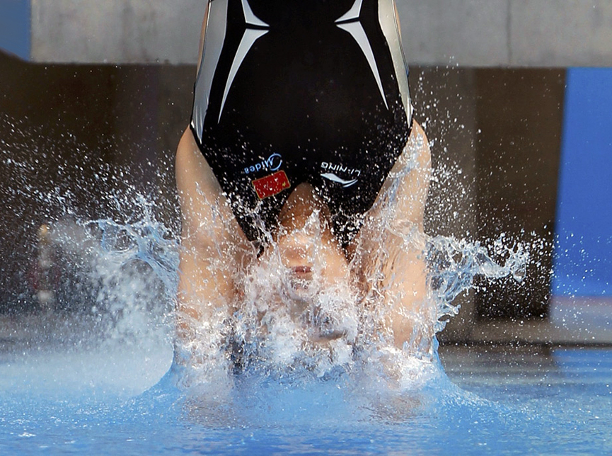 14th Fina World Championship de Shangai. Bobby Yip, Reuters