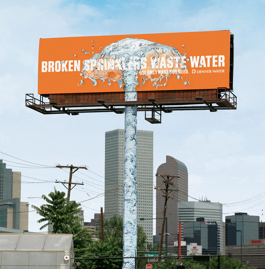 Denver Water. Agencia Sukle Advertising Design, Denver. USA