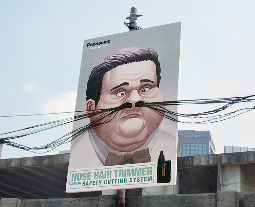 Panasonic, Nose hair trimmer. Agencia Saatchi Saatchi, Indonesia