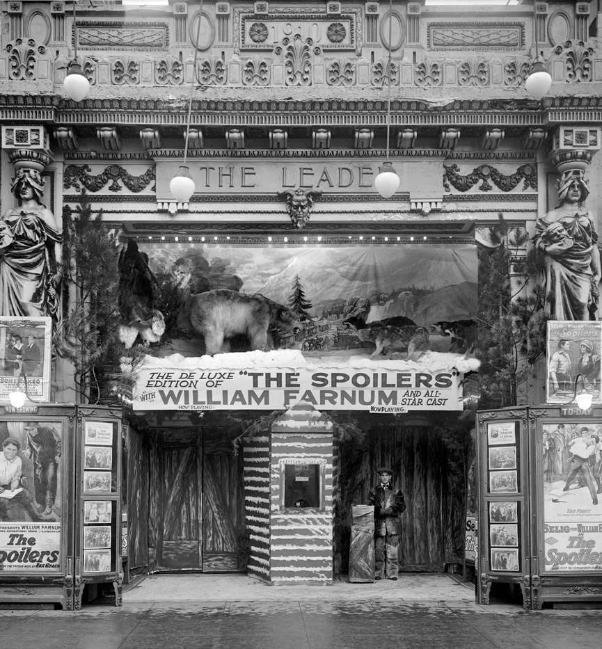 Leader Theater en Washington, 1920. Shorpy