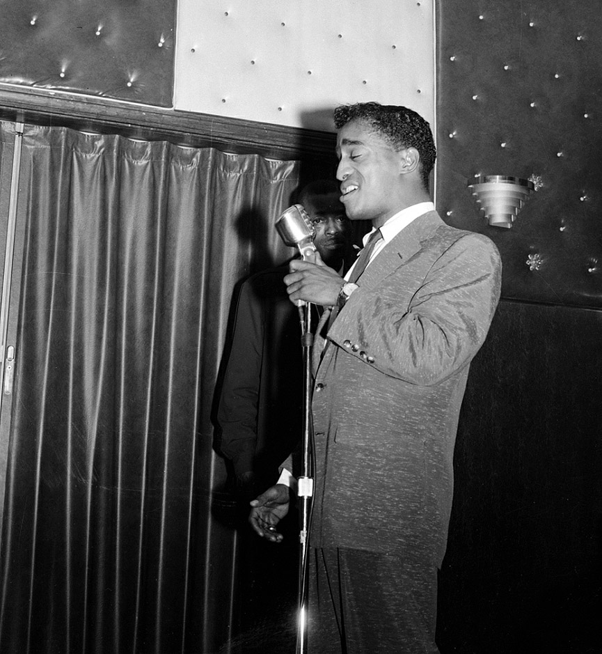 Sammy Davis Jr en el Flamingo Club, en 1955. Charles Harris