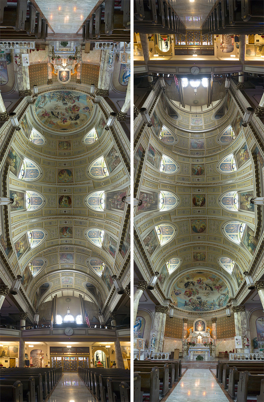 Panorámicas verticales de Richard Silver Lady-of-Pompeii-Parish-New-York