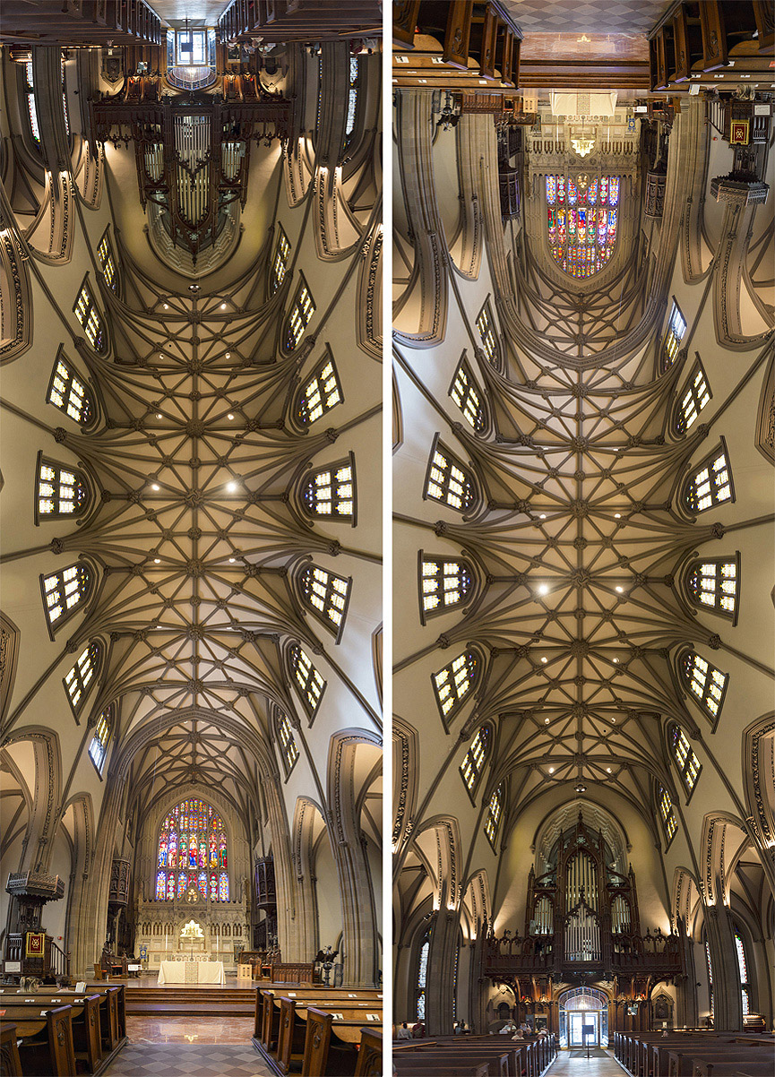Panorámicas verticales de Richard Silver Trinity-Church-NYC