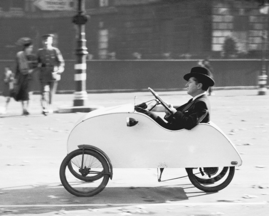 Velocar en Hyde Park. Londres, 1939. Getty Images