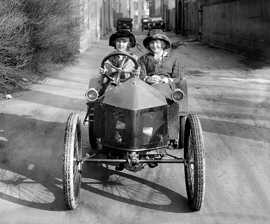 Cyclecar. Washington, 1915. Biblioteca del Congreso