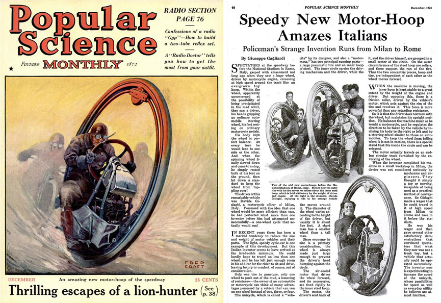 Popular Science. Diciembre de 1924. Popular Science