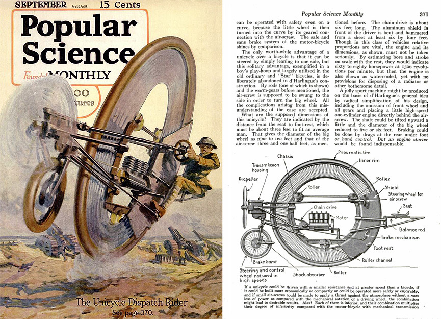 Popular Science. Septiembre, 1917. Popular Science